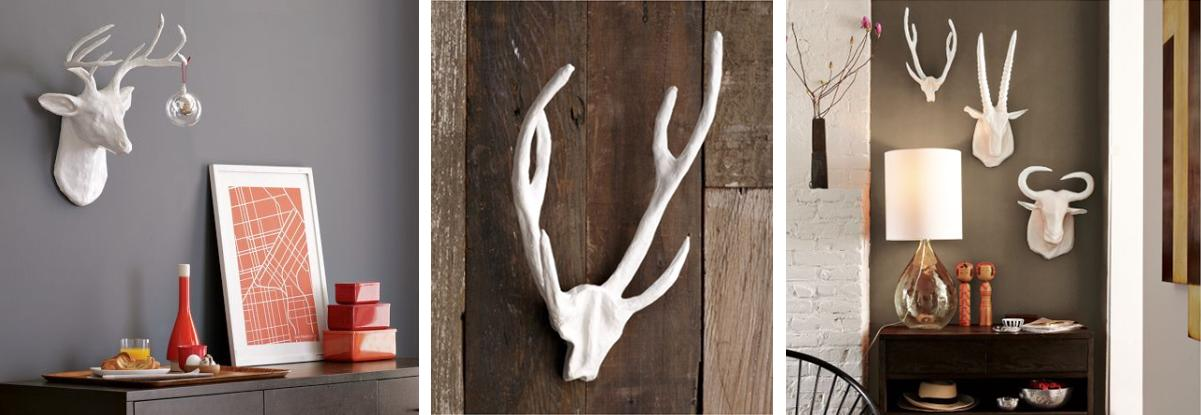 ... Paisley Deer Head Wall Mount U2013 BananaTreeStudio Via Etsy. Great ...